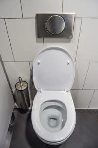 cuvette des wc froide